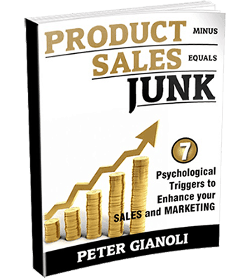 Product Minus Sales Equals Junk - Claim Your Free Copy