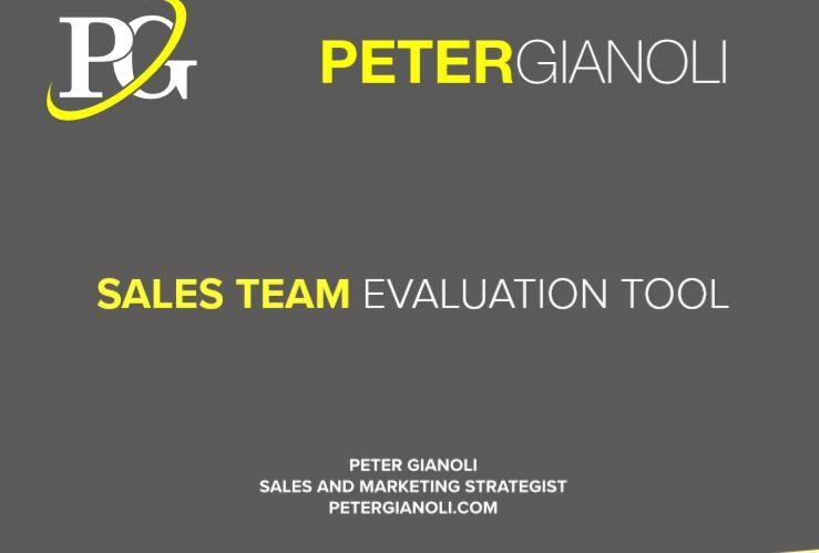 sales evaluation tool