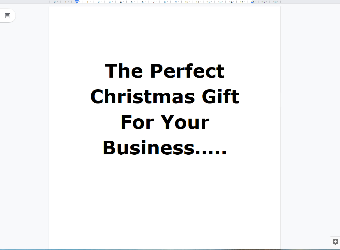 Christmas campaign for your business